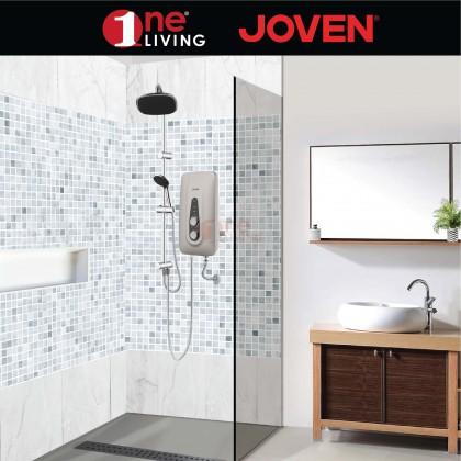 Joven DC Pump Water Heater SB11IP Rain Shower White
