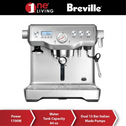 Breville the Dual Boiler Espresso Machine BES920 Stainless Steel