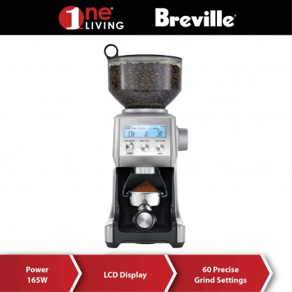 Breville the Smart Grinder Pro Coffee Grinder BCG820 Stainless Steel