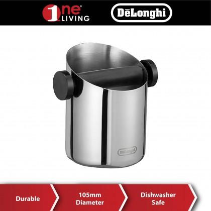 Delonghi Stainless Steel Mini Knock Box DLSC059