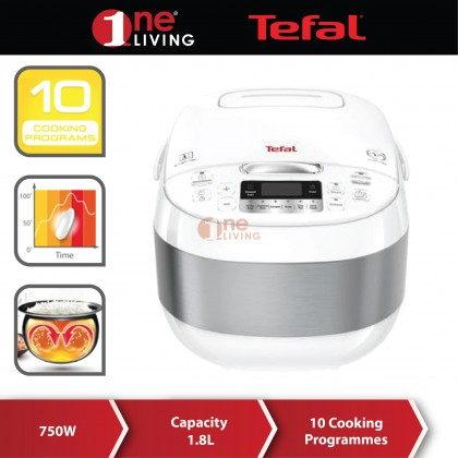 Tefal Fuzzy Logic Rice Cooker 1.8L (10 Cups) RK7521