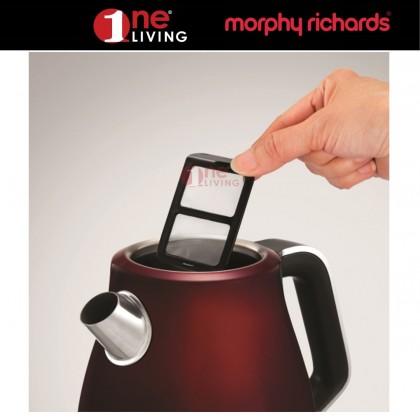 Morphy Richards Evoke Jug Kettle Red 104408