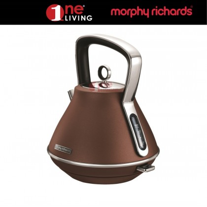 Morphy Richards Evoke Pyramid Kettle Bronze 100101