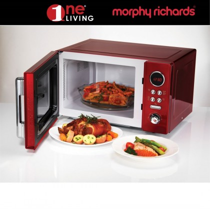 Morphy Richards Microwave Oven Red 511512