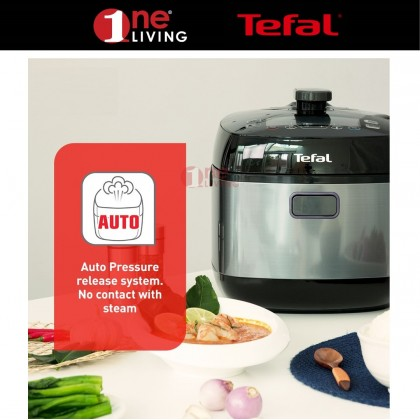 Tefal Home Chef Smart Pro Multicooker (Pressure Cooker) (CY625) (CY625D) [Free Stainless Steel Pot]