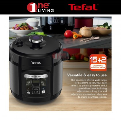 Tefal Home Chef Smart Multicooker (Pressure Cooker) (CY601) (CY601D)