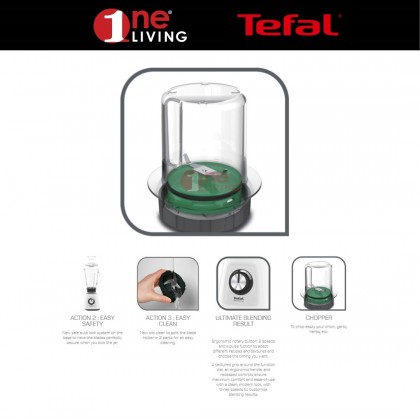 Tefal Blendforce II Blender Glass BL4361