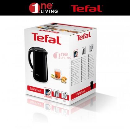 Tefal Safe Tea Jug Kettle Black 1.7L KO2608