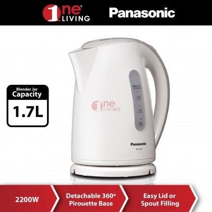 Panasonic 1.7L Plastic Jug Kettle NC-GK1WSK
