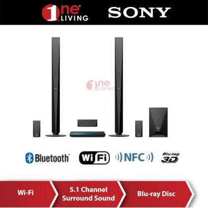 Sony Home Theater Blu-ray Home Cinema System with Bluetooth BDV-E4100