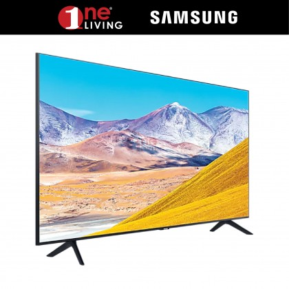 "[FREE Delivery & Standard Installation for selected area] Samsung 43"" TU8000 4K UHD Smart TV (2020) UA43TU8000KXXM"